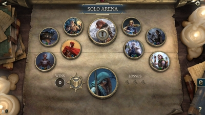 Screen ze hry The Elder Scrolls: Legends