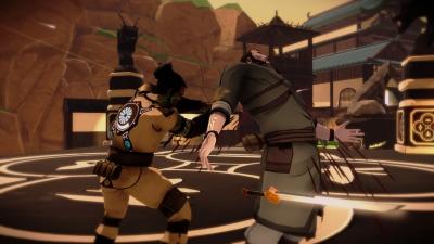 Screen ze hry Aragami: Nightfall