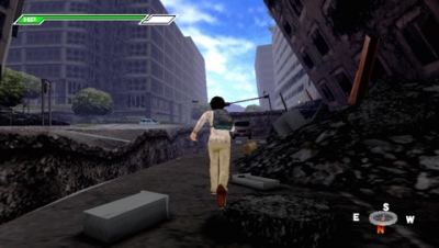 Screen ze hry The Desperate City 3: Damaged Town and Her Song