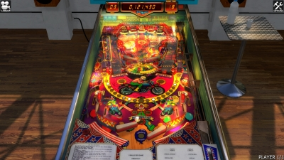 Screen ze hry Zaccaria Pinball