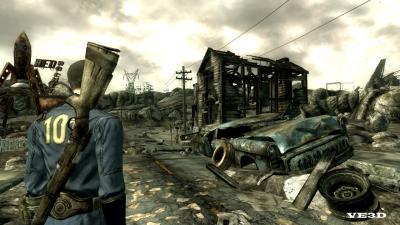 Screen ze hry Fallout 3