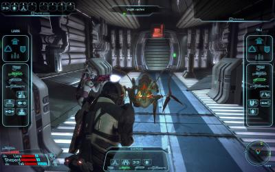 Screen ze hry Mass Effect