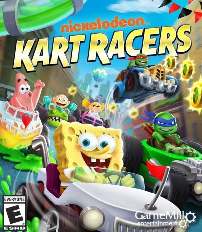 Artwork ke hře Nickelodeon Kart Racers