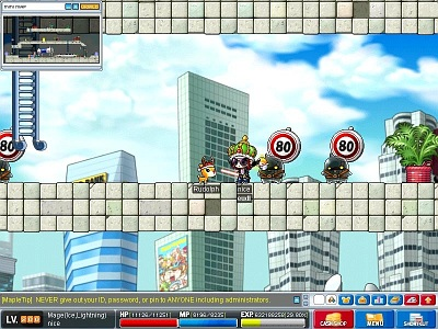 Screen MapleStory