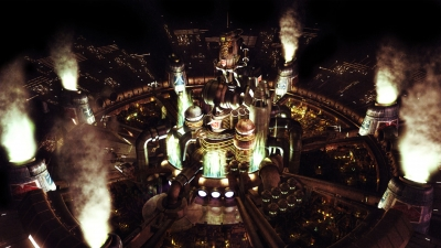 Artwork ke hře Final Fantasy VII