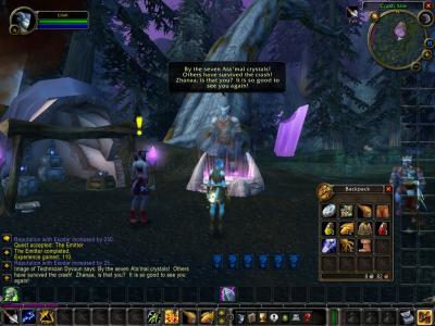 Screen ze hry World of Warcraft: The Burning Crusade