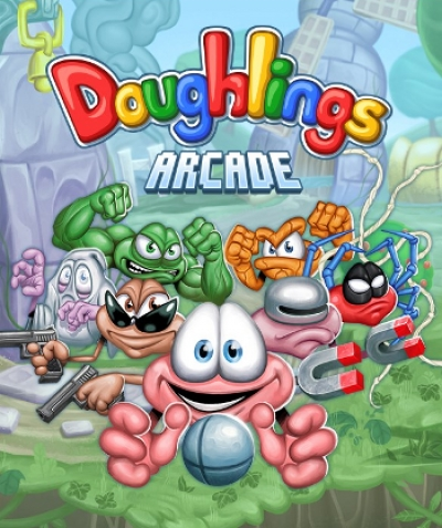 Artwork ke hře Doughlings: Arcade