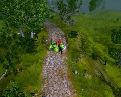 Screen ze hry Sacred 2: Fallen Angel