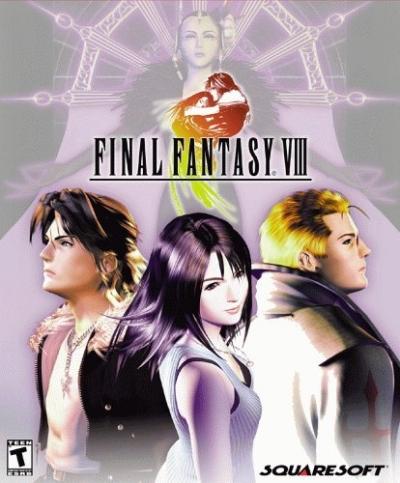 Obal hry Final Fantasy VIII