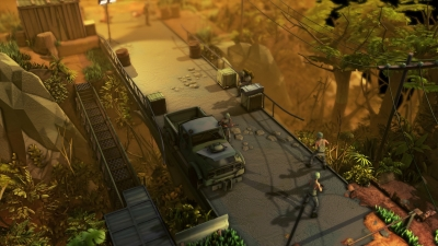 Screen ze hry Jagged Alliance: Rage!