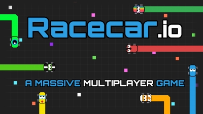 Screen ze hry Racecar.io