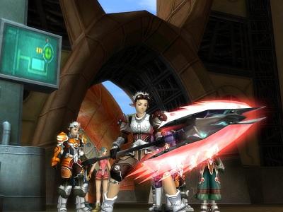 Screen ze hry RF Online