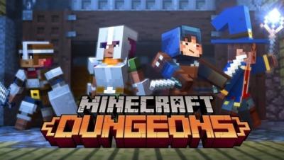 Artwork ke hře Minecraft: Dungeons