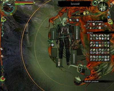 Screen ze hry Witcher, The