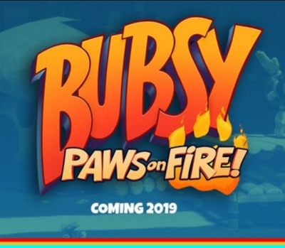 Artwork ke hře Bubsy: Paws on Fire!