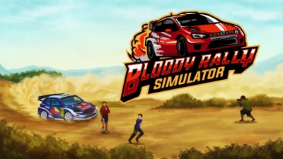 Artwork ke hře Bloody Rally Simulator