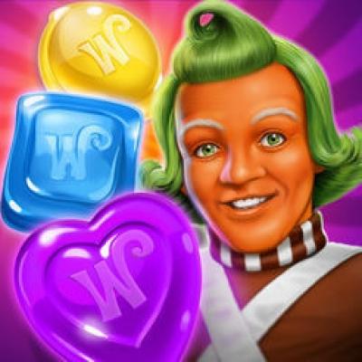 Artwork ke hře Wonka´s World of Candy