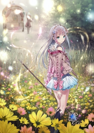 Artwork ke hře Atelier Lulua: The Scion of Arland