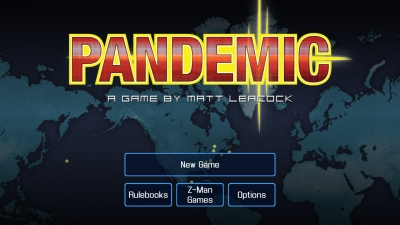Screen ze hry Pandemic: The Board Game