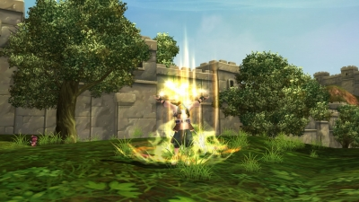 Screen ze hry Ragnarok Online II