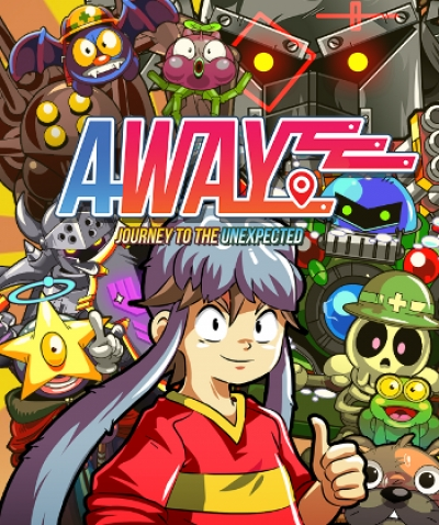 Artwork ke hře Away: Journey to the Unexpected