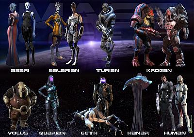 Screen ze hry Mass Effect 2