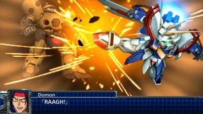 Screen ze hry Super Robot Taisen T