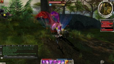 Screen ze hry Guild Wars: Nightfall