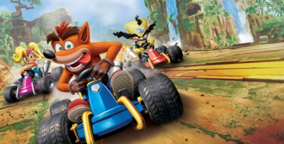 Artwork ke hře Crash Team Racing: Nitro Fueled