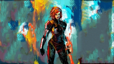 Artwork ke hře Mass Effect 3