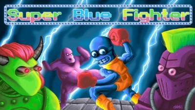 Artwork ke hře Super Blue Fighter