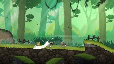 Screen ze hry Unsung Warriors - Prologue