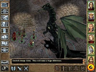 Screen Baldur´s Gate II: Shadows of Amn