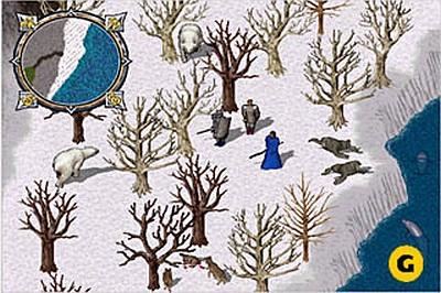 Screen Ultima Online