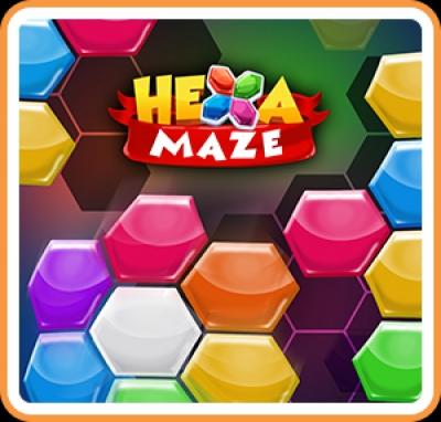 Artwork ke hře Hexa Maze