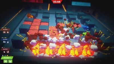 Screen ze hry Bomb Bots Arena
