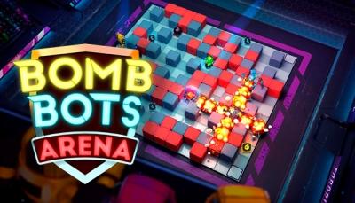 Artwork ke hře Bomb Bots Arena