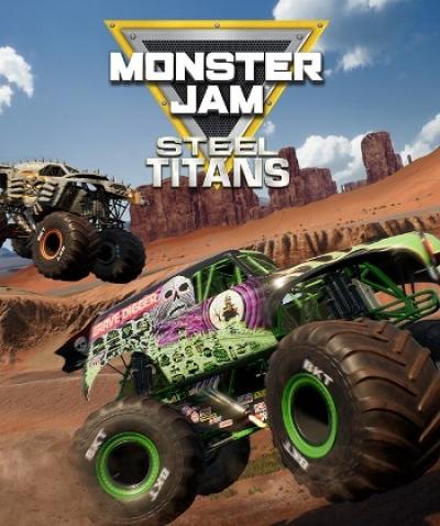 Artwork ke hře Monster Jam: Steel Titans