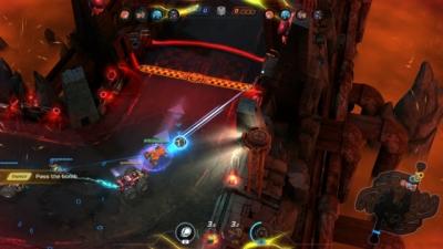Screen ze hry Heavy Metal Machines