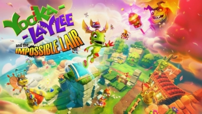 Artwork ke hře Yooka-Laylee and the Impossible Lair