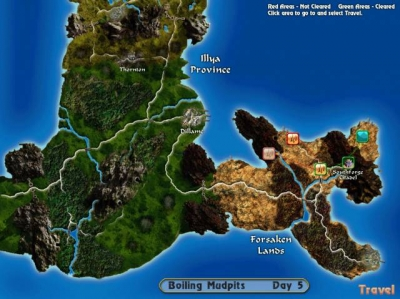 Screen ze hry Geneforge 4: Rebellion