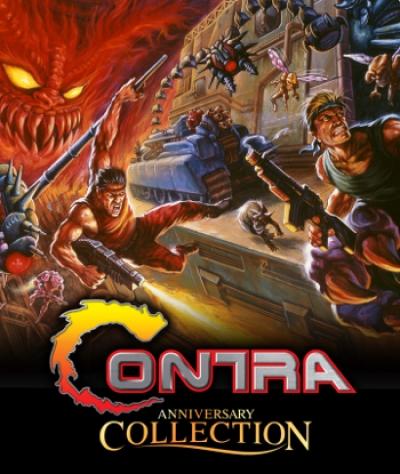 Artwork ke hře Contra Anniversary Collection