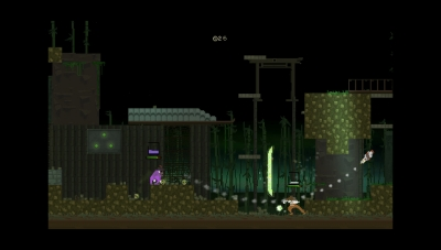 Screen ze hry BackSlash