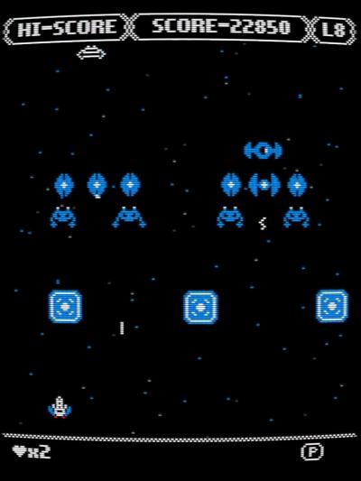 Screen ze hry Zeroptian Invasion