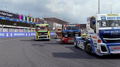 Screen ze hry FIA European Truck Racing Championship