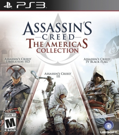 Artwork ke hře Assassin´s Creed: The Americas Collection