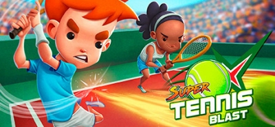 Artwork ke hře Super Tennis Blast