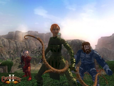 Screen ze hry EverQuest II: Echoes of Faydwer
