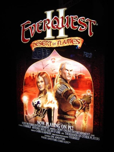 Artwork ke hře EverQuest II: Desert of Flames