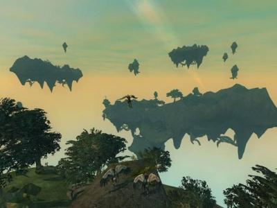 Screen ze hry EverQuest II: Kingdom of Sky